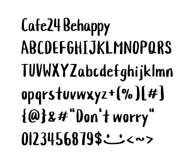 Cafe24 Behappy